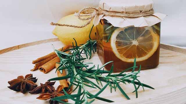 Rosmarin und Zitrone - Terpene